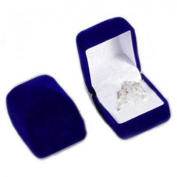 Modrá krabička na prstienok