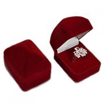 Bordó krabička na prstienok