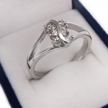 Strieborný prsteň (KPS147)