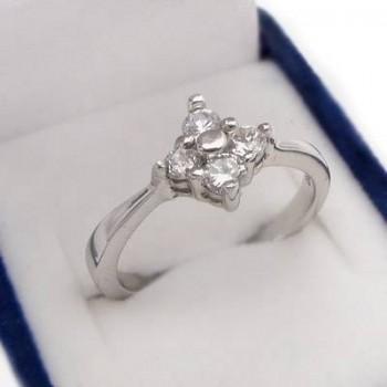 Strieborný prsteň (KPS148)