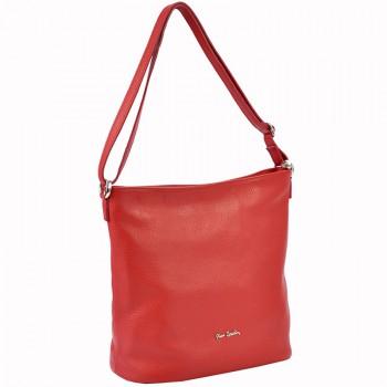 Značková kožená kabelka Pierre Cardin (GK66)