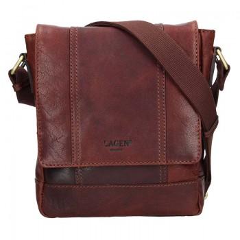 Pánska kožená taška cez rameno (GT68)
