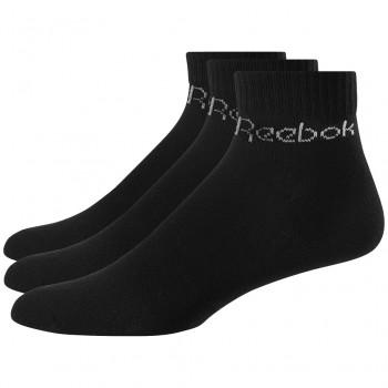 Čierne členkové ponožky Reebok (GPP3)