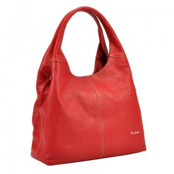 Značková kožená kabelka Pierre Cardin (GK43)