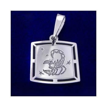 Strieborný prívesok-znamenie škorpión