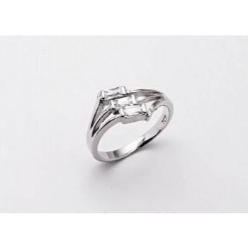 Strieborný prsteň KPS004