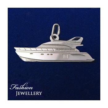 Strieborný prívesok jachta (KPRS160)