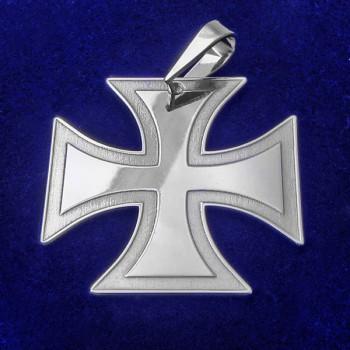 Strieborný prívesok maltézsky kríž (KP071)