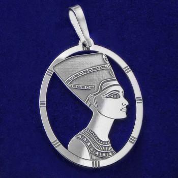 Strieborný prívesok Nefertiti (KPRS045)