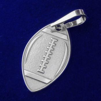 Strieborný prívesok ragbyová lopta (KPRS075)